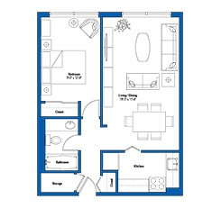 A comfortable apartment in Toronto - the crossways